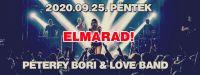 Bővebben: Péterfy Bori & Love Band // 2020.09.25. ELMARAD!